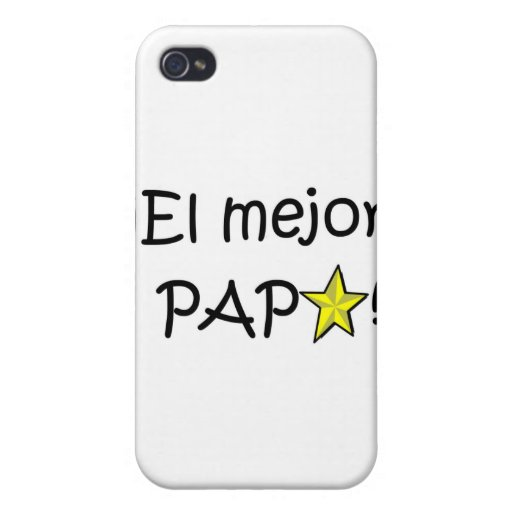 ¡Feliz día del padre - para el mejor! Case For iPhone 4