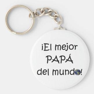 ¡Feliz día del padre - para el mejor! Keychain