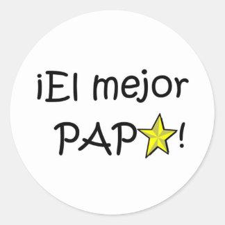 ¡Feliz día del padre - para el mejor! Stickers