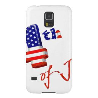 Feliz el 4 de julio, Día de la Independencia feliz Fundas De Galaxy S5