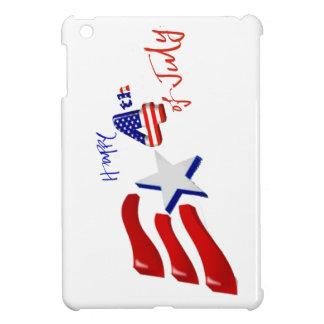 feliz el 4 de julio, Día de la Independencia feliz iPad Mini Protector