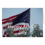 Feliz el 4 de julio felicitación