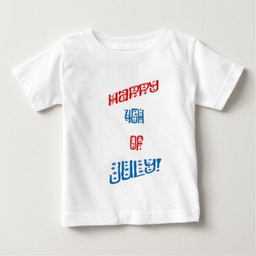 Feliz el 4 de julio t-shirt