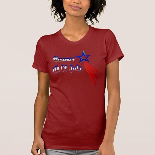 Feliz el 4 de julio t-shirts
