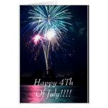 ¡Feliz el 4 de julio!!!! Tarjeta