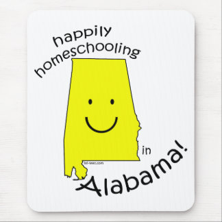 Feliz en Alabama Alfombrillas De Ratones