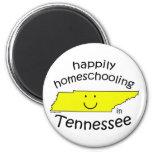Feliz en Tennessee Imán Para Frigorifico