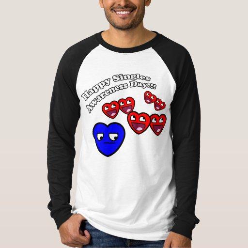 Feliz escoge día de la conciencia camisas