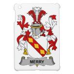 Feliz escudo de la familia iPad mini fundas