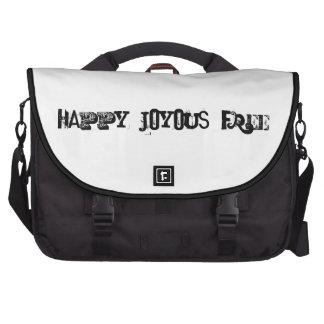 feliz, feliz, libre bolsas de ordenador