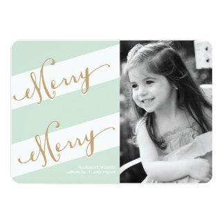"""Feliz feliz - tarjeta de felicitación de la foto invitación 5"""" x 7"""""""