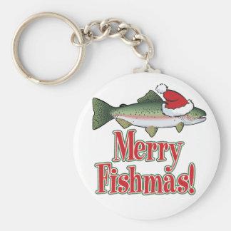 Feliz Fishmas Llavero