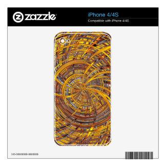 Feliz, fuego (c) calcomanías para el iPhone 4S