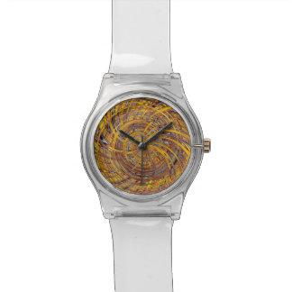 Feliz, fuego (c) relojes de mano