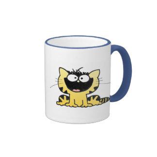 Feliz-Gatito Tazas De Café