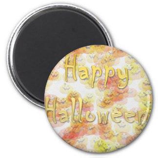 Feliz Halloween 3 Imán Redondo 5 Cm