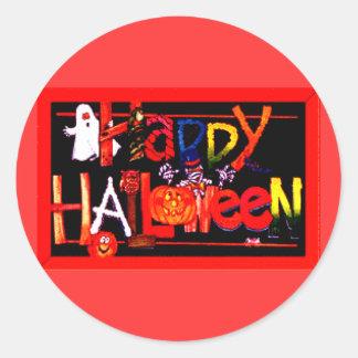 Feliz Halloween 3 Pegatina