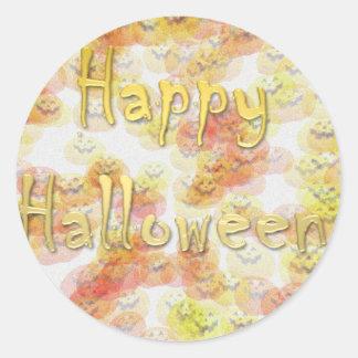 Feliz Halloween 3 Pegatinas