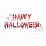 Feliz Halloween 4 Postal