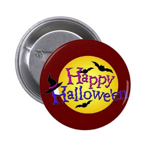 Feliz Halloween 6 Pins
