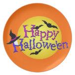 Feliz Halloween 6 Plato