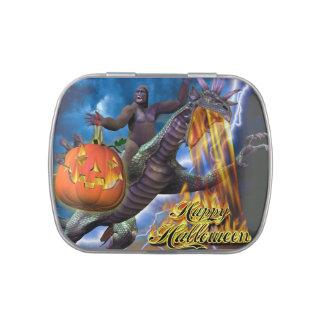 Feliz Halloween 7 envases del caramelo Jarrones De Dulces