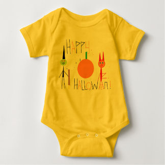 feliz Halloween Body Para Bebé