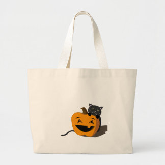 ¡Feliz Halloween! Bolsa Tela Grande