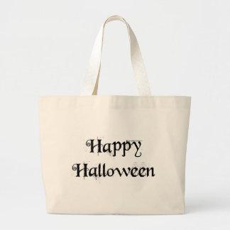 Feliz Halloween Bolsas Lienzo