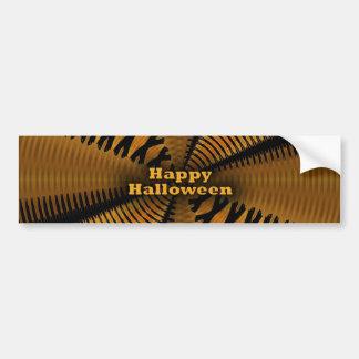 Feliz Halloween Etiqueta De Parachoque
