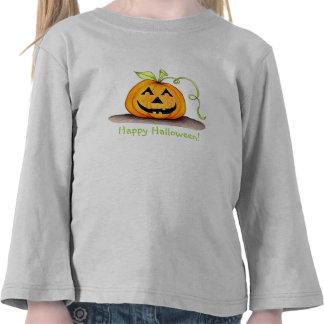 ¡Feliz Halloween! Camisa del niño
