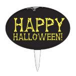 Feliz Halloween con extravagantemente lindo Palillos De Tarta