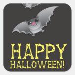Feliz Halloween con extravagantemente lindo Colcomania Cuadrada