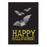 Feliz Halloween con extravagantemente lindo Tarjeta Postal