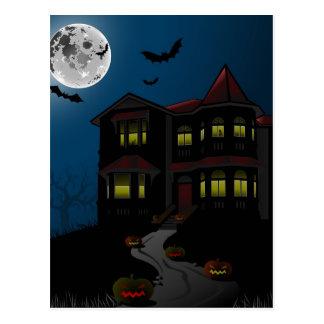 Feliz Halloween de la postal