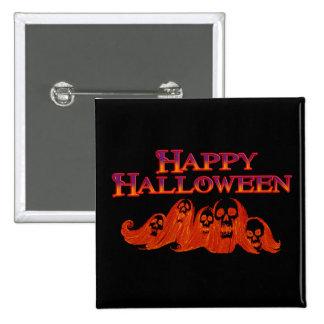 Feliz Halloween de las brujas de Halloween Pin