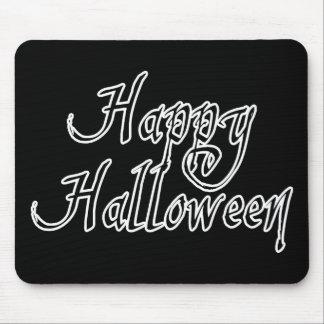 Feliz Halloween del garrapatos del pirata Tapetes De Ratones