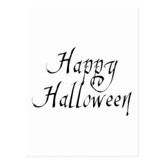 Feliz Halloween del garrapatos del pirata Postal