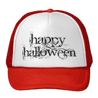 Feliz Halloween del Grunge de Swirly Gorras De Camionero