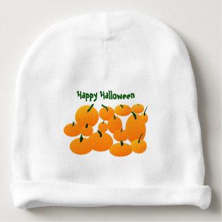 Feliz Halloween del personalizado del remiendo de Gorrito Para Bebe