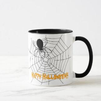 ¡Feliz Halloween del Web de araña!! 2 Taza