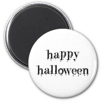 Feliz Halloween Drippy de la sangre Imán De Nevera