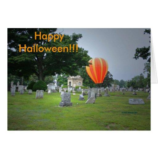 ¡Feliz Halloween!  ¡El frecuentar! Tarjeta De Felicitación