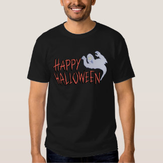 Feliz Halloween fantasmagórico Playera