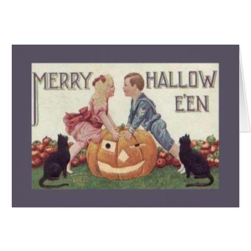Feliz Hallowe'en Felicitacion