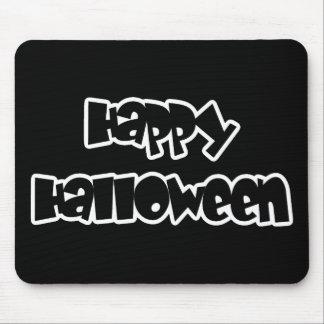 Feliz Halloween feliz Alfombrillas De Ratón