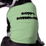 Feliz Halloween feliz Camisetas De Perro