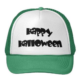 Feliz Halloween feliz Gorras