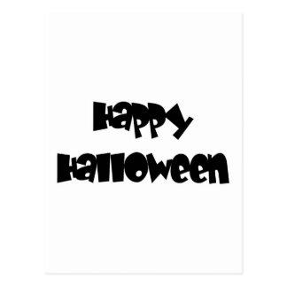 Feliz Halloween feliz Postal