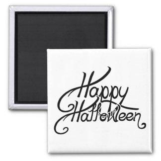 Feliz Halloween festivo fantasmagórico Imanes De Nevera